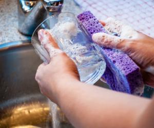 Hand Wash Dishes